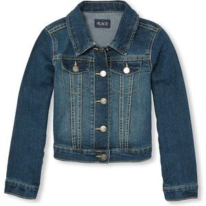 The Children's Place Girl's Denim Jacket | Size 2T